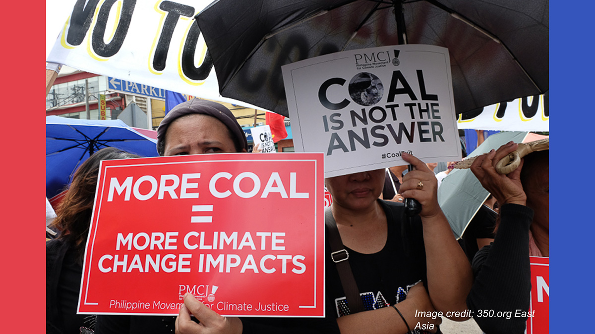 APMDD to DOE's coal moratorium: a welcome step, but we need total coal exit now